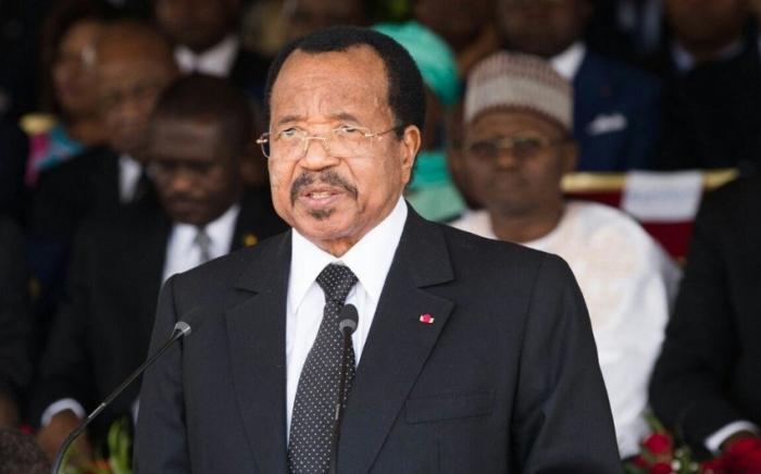 Kamerun Prezidenti İlham Əliyevi təbrik edib