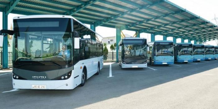 Rayonlara avtobusla gediş-gəliş bərpa olunur