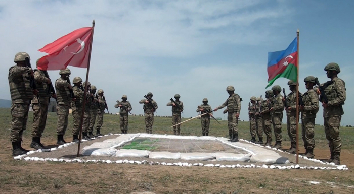 Tactical exercises held with the participation of Azerbaijani and Turkish servicemen -   VIDEO