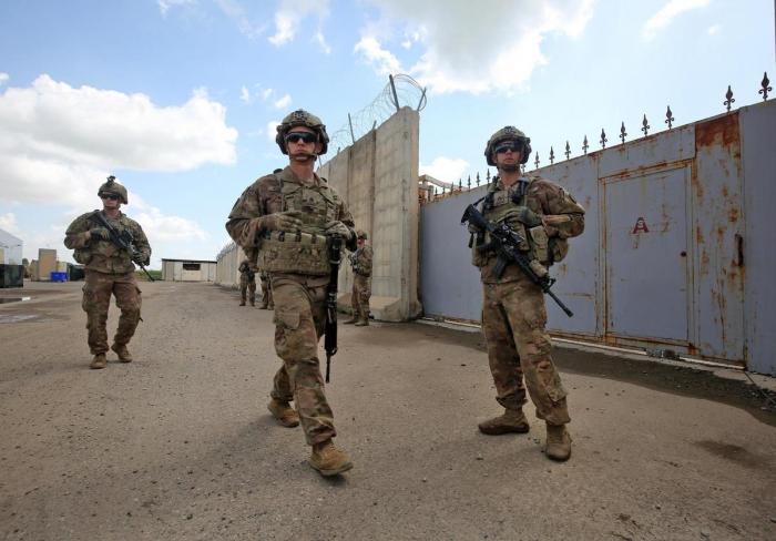 Les forces US se sont retirées de l