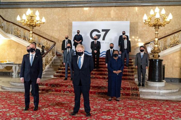 Pékin «condamne fermement» le communiqué du G7en matière de droits de l