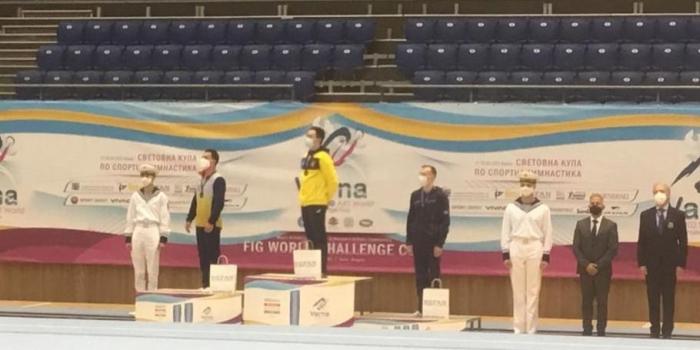 Azerbaijani gymnast wins bronze at World Cup in Bulgaria