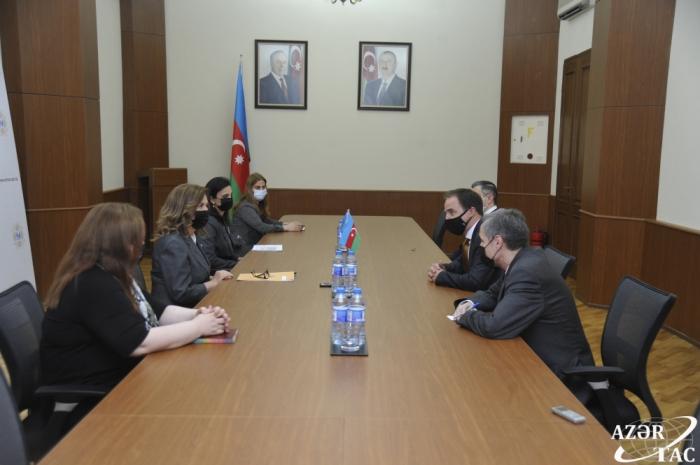 El Comité Estatal de Asuntos de la Familia, la Mujer y la Infancia de Azerbaiyán y UNICEF firman el Plan de Acción para 2021-2022