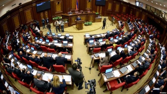 Ermənistan parlamenti buraxıldı -  Yeni seçki elan olundu