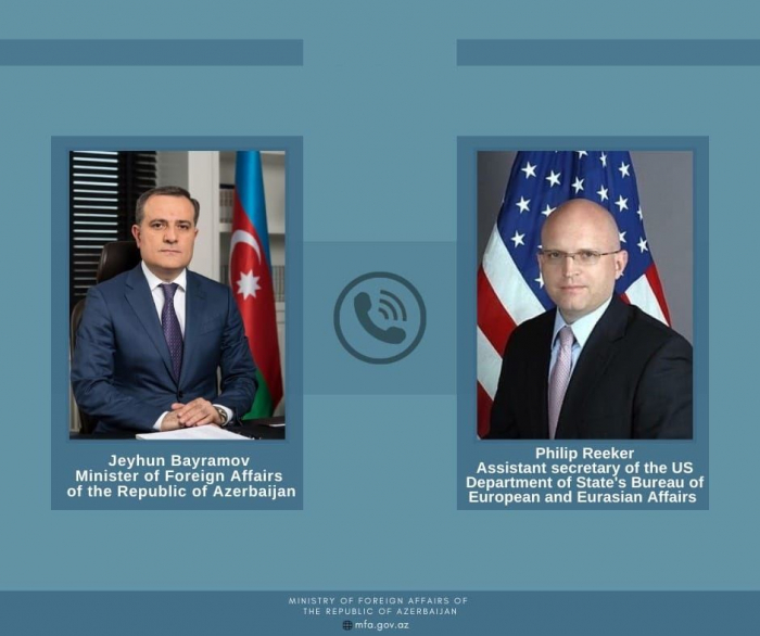 Azerbaijan, US exchange views on Armenian-Azerbaijani border situation