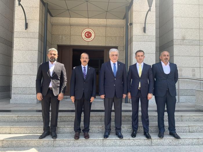 Turkish ambassador meets with head of Turkey-Azerbaijan Interparliamentary Friendship Group