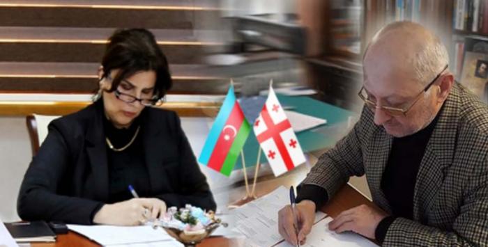 """Se firma un memorando entre el Centro Estatal de Traducción y la editorial georgiana """"Iverioni"""