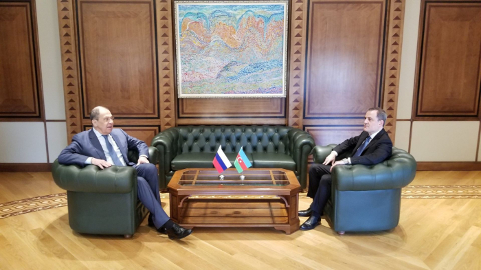 Nazir Lavrovla görüşün detallarını açıqladı