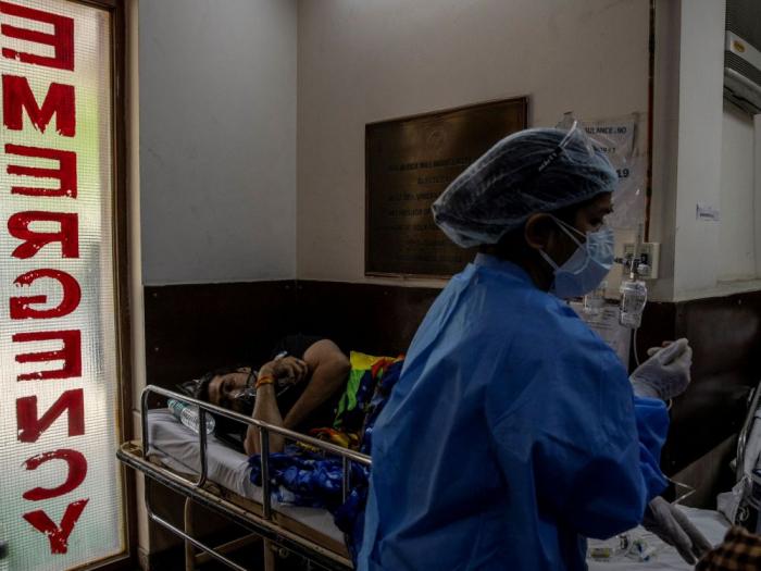 Le coronavirus a causé la mort de plus de 3.700 personnes enIndeen 24h