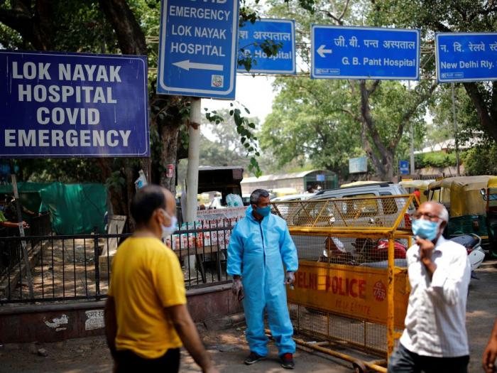 Pandémie/Inde: Plus de 1,5 million de nouvelles contaminations en une semaine