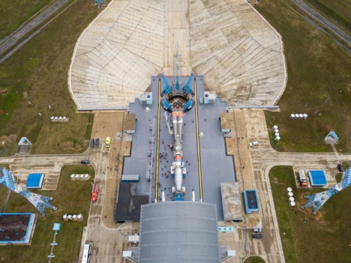 Espace: une fusée Soyouz à lancé 36 nouveaux satellites britanniques