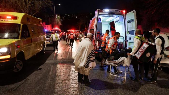İsraildə sinaqoqun tribunası çöküb:  2 ölü, 219 yaralı - (YENİLƏNİB)