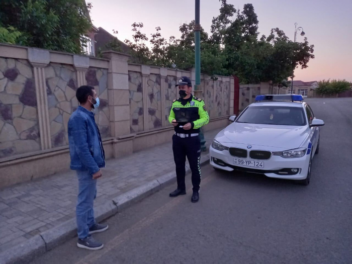 Biləsuvarda yol polisi reyd keçirdi