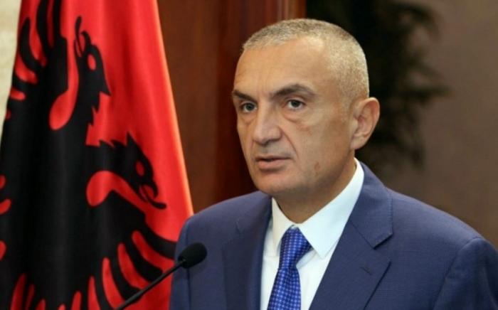 Albaniya Prezidenti İlham Əliyevi təbrik edib