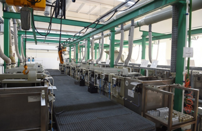 La producción industrial de Azerbaiyán se reduce un 4%