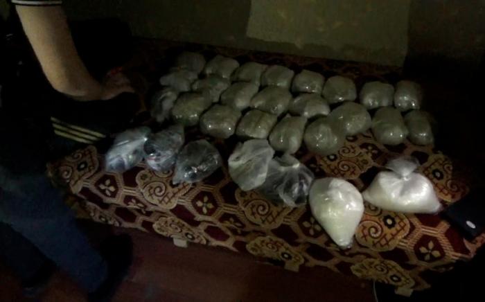 Polis əməliyyatlar keçirdi, 62 kq narkotik götürüldü -  FOTO+VİDEO