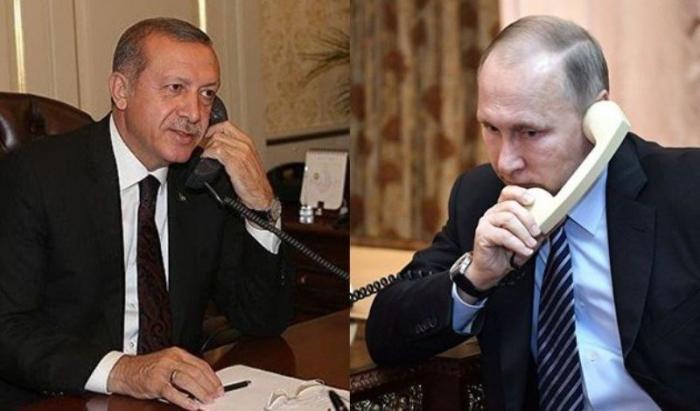 Erdogan, Putin discuss clashes in Gaza