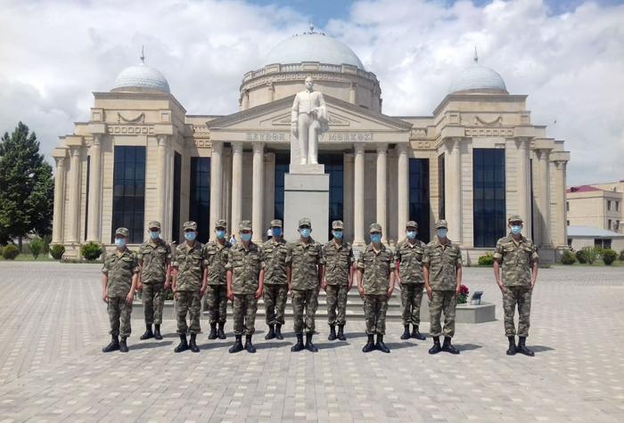 Azərbaycan Ordusunda Respublika Günü qeyd olundu