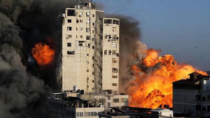 İsrail-Fələstin qarşıdurmasında ölənlərin sayı artıb
