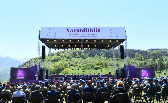 Festivalın ilk günü:    Şuşada tarixi anlar yaşandı