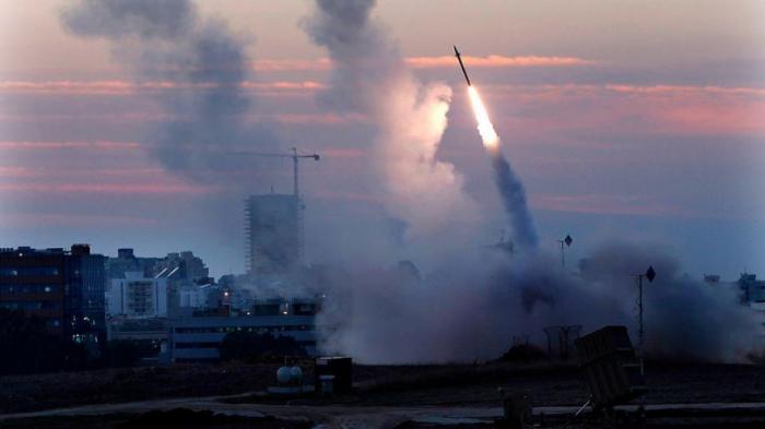 İsraildə raket zərbəsindən iki nəfər ölüb