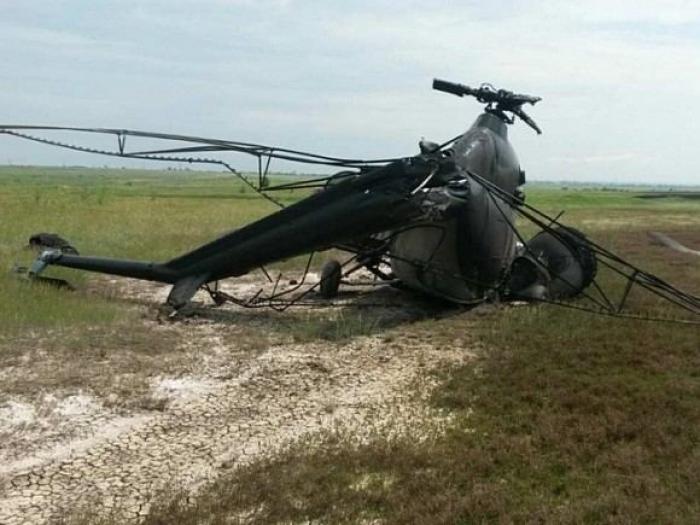 Kolumbiyada polis helikopteri qəzaya uğrayıb -    5 ölü