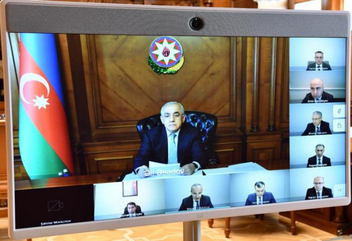 عقد جلسة برئاسةعلي اسدوف