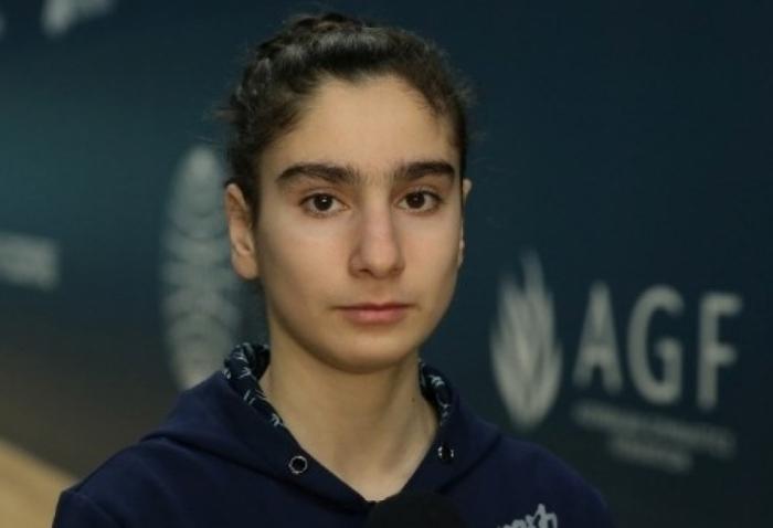 Gimnasta azerbaiyana alcanza la final del Campeonato de Europa