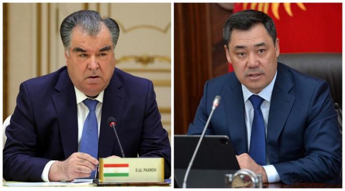 Presidents of Tajikistan, Kyrgyzstan discuss agreements regarding situation on border
