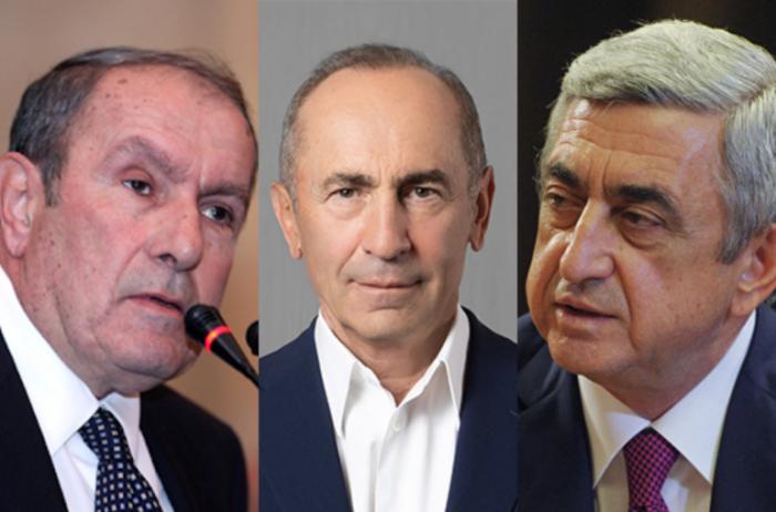 Ter-Petrosyan sabiq prezidentləri Paşinyana qarşı birləşməyə çağırdı