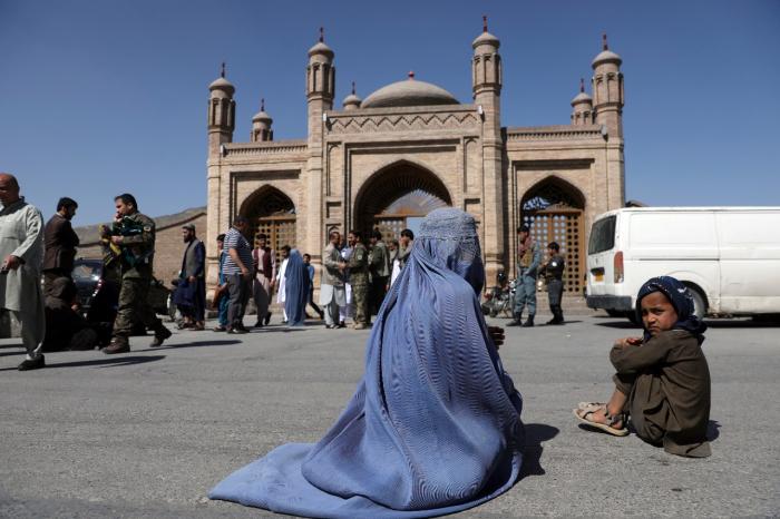 Mosque bombing in Afghanistan