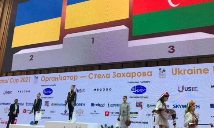 Azerbaijani gymnasts win medals at international tournament in Kiev