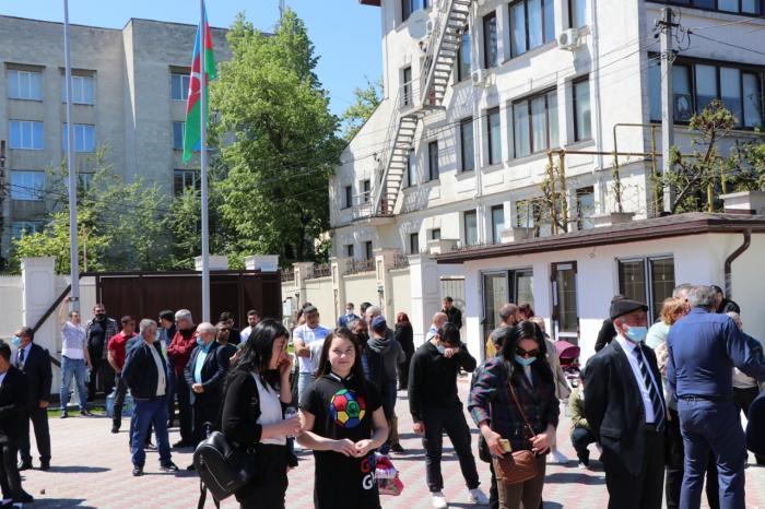 Moldovada Ulu Öndərin xatirəsi anılıb