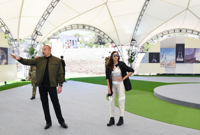President Aliyev: 17 mosques in Azerbaijan's Shusha city destroyed by hated enemy