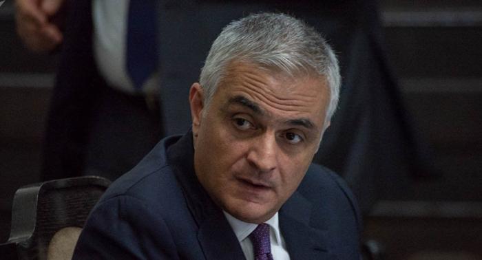 Qriqoryan infrastrukturun blokdan çıxarılmasından danışdı
