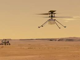 Nasa's Mars helicopter goes on 'stressful' wild flight after malfunction