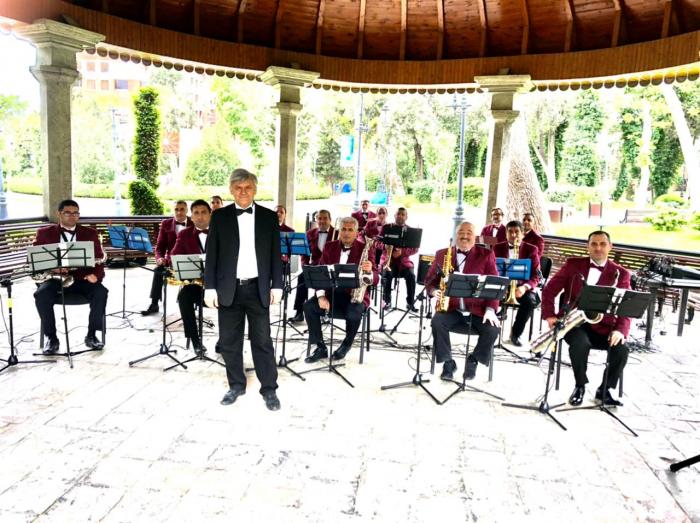 Bakı Sirkinin orkestri səyyar fəaliyyətə başladı