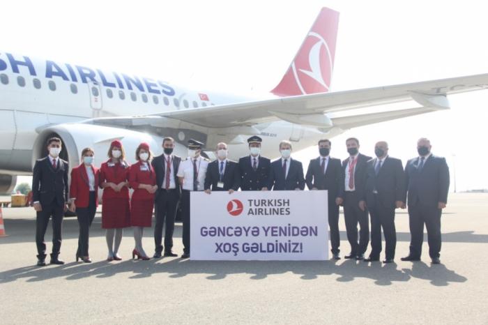 """Turkish Airlines"" reanuda sus vuelos a Ganja"
