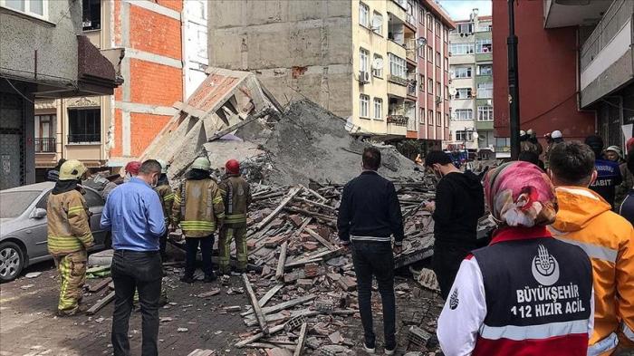 Turquie :un bâtiment de cinq étages s