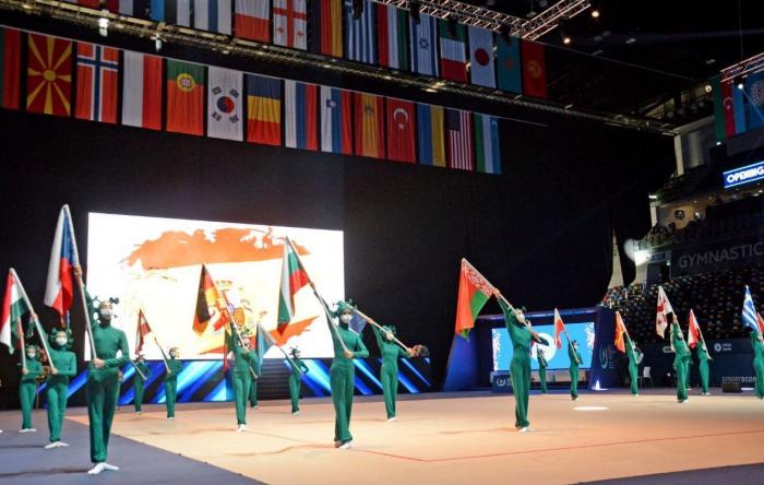 Baku hosts opening ceremony of Rhythmic Gymnastics World Cup