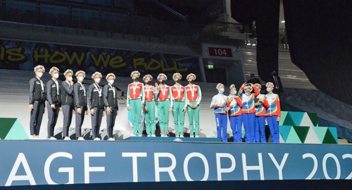 Baku holds awarding ceremony of Rhythmic Gymnastics World Cup