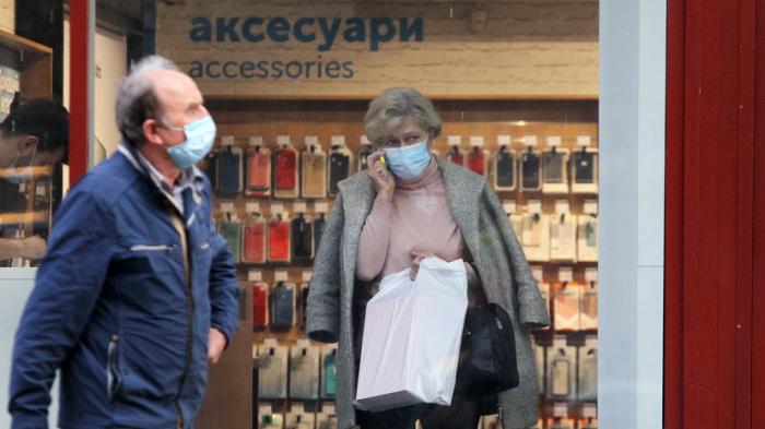 Ukraynada virusdan ölənlərin sayı 43 mini ötdü