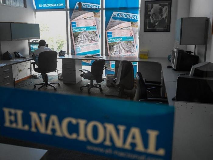 Venezuela newspaper office seized in defamation case filed by Maduro ally