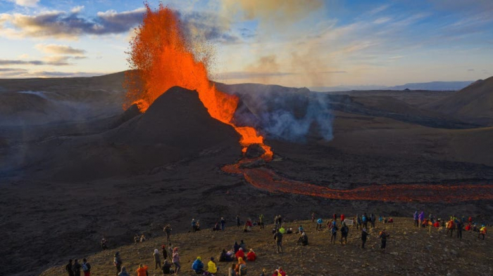 Icelandic volcanic eruption a
