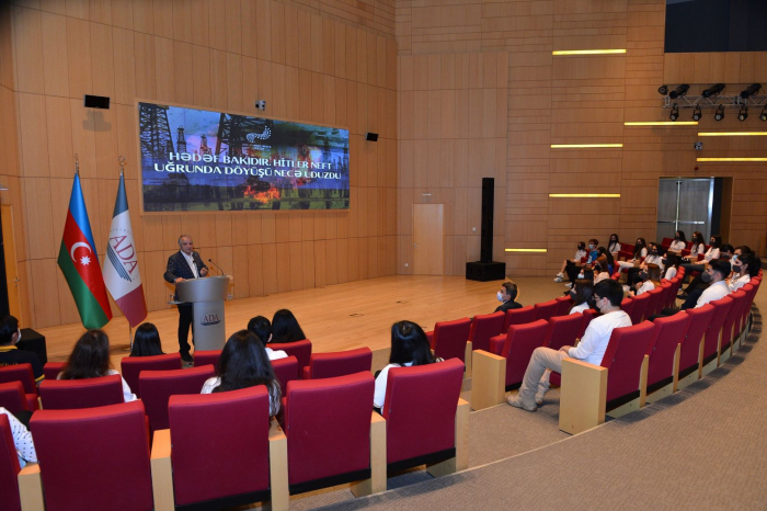 Azerbaijani ADA University sсreens film timed to Day of Victory in WWII