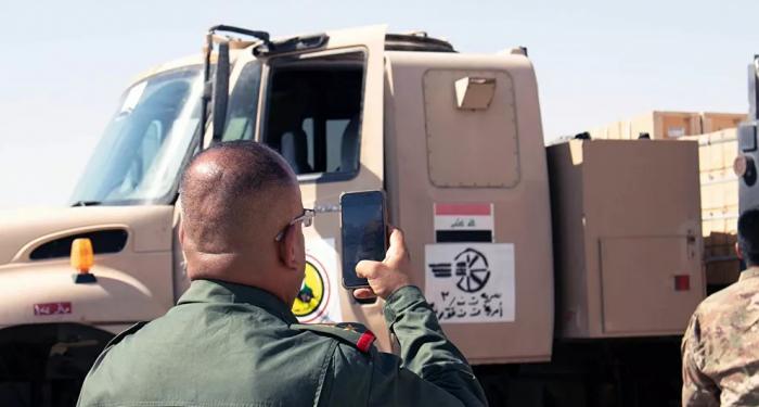 التحالف الدولي يمنح قوات أمنية عراقية أسلحة وعتاد بنحو 3 ملايين دولار