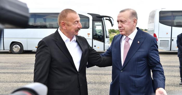 إلهام علييف تحدثت لرجب طيب أردوغان عن تقدم أعمال إعادة الإعمار في شوشة -  فيديو
