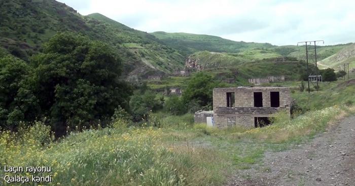 لقطات من قرية قالاجا ، منطقة لاتشين -  فيديو