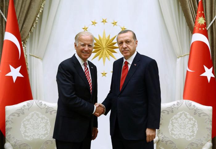 Erdogan, Biden to address number of issues