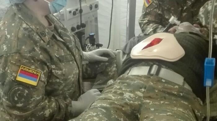 Komandir gənc zabiti döyüb    - Erməni ordusunda insident